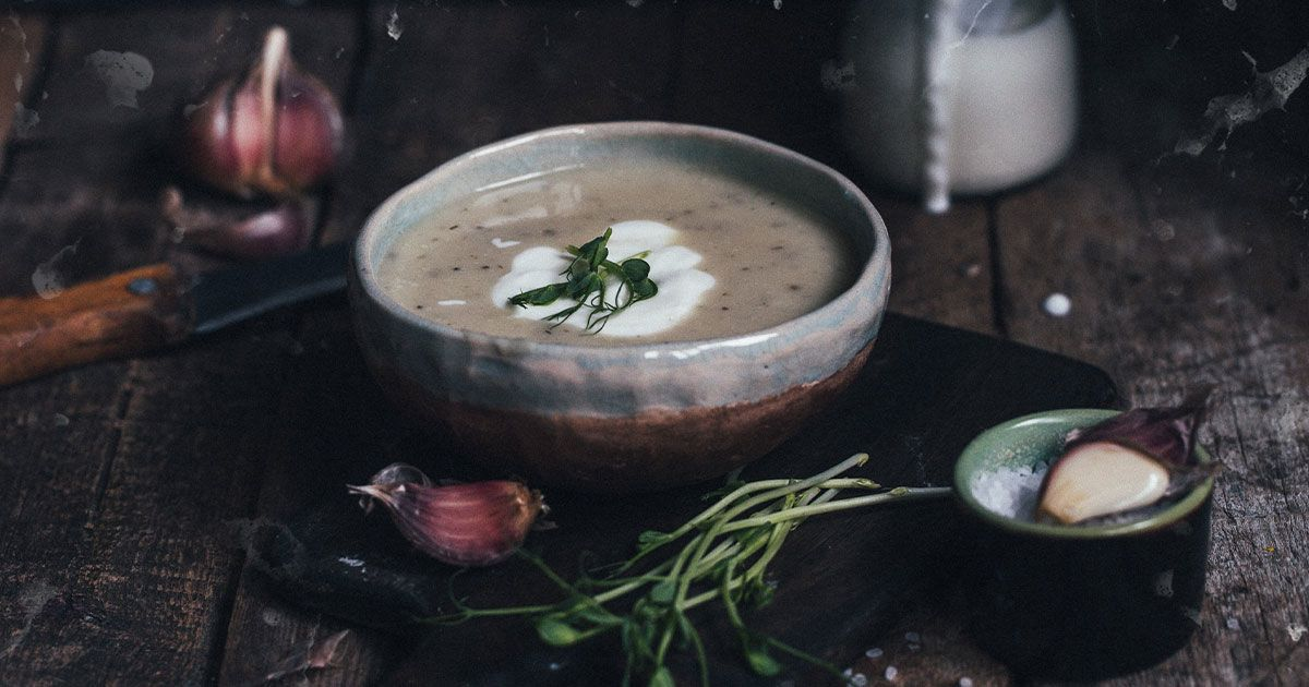 Крем-суп з цвітної капусти
