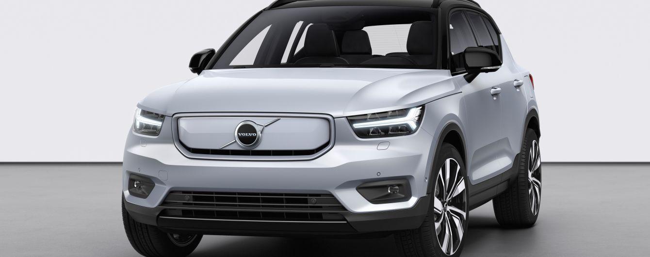 Volvo представила электрический кроссовер: видео
