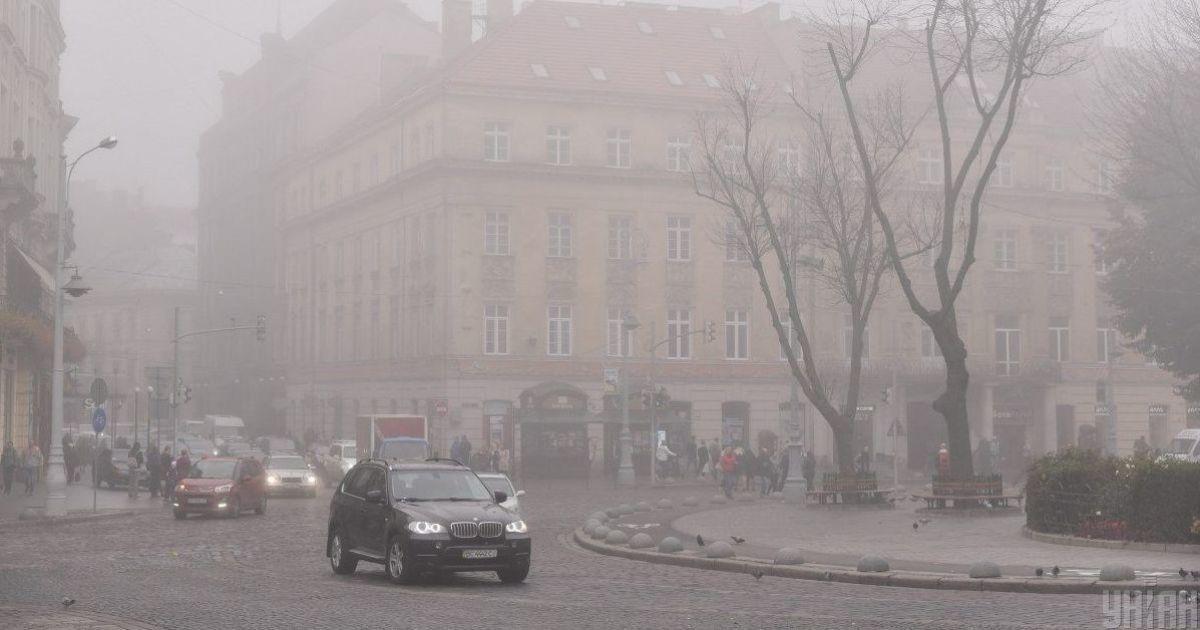 Прогноз погоды на 25 ноября: в Украине будет дождь и туман, температура воздуха — до +10