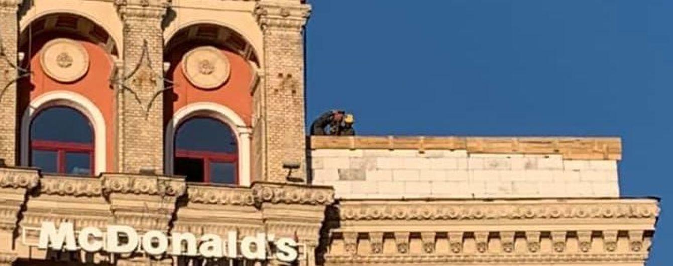 Владелица демонтированной надстройки в центре Киева планирует жаловаться президенту