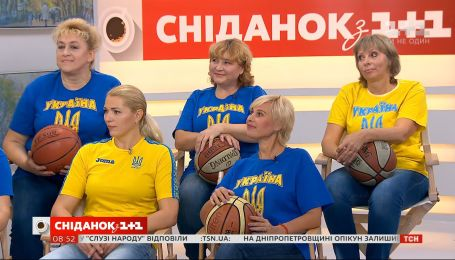 "Сборная Украины по баскетболу в категории 55+ ""Legion XXI"" в ""Сніданку"""