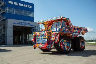 "74-тонный ""БелАЗ"" от World of Tanks продают за $1,1 млн"