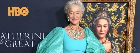 Как королева: роскошный образ Хелен Миррен на премьере сериала