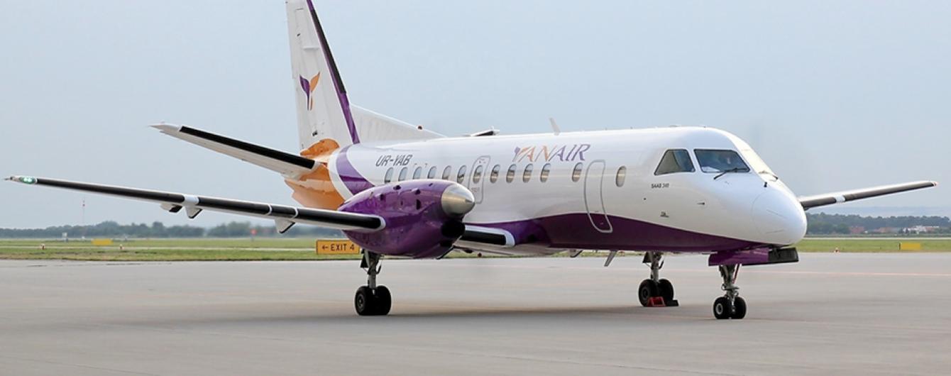 YanAir запустит 12 дополнительных авиарейсов из Украины в Грузию до новогодних праздников