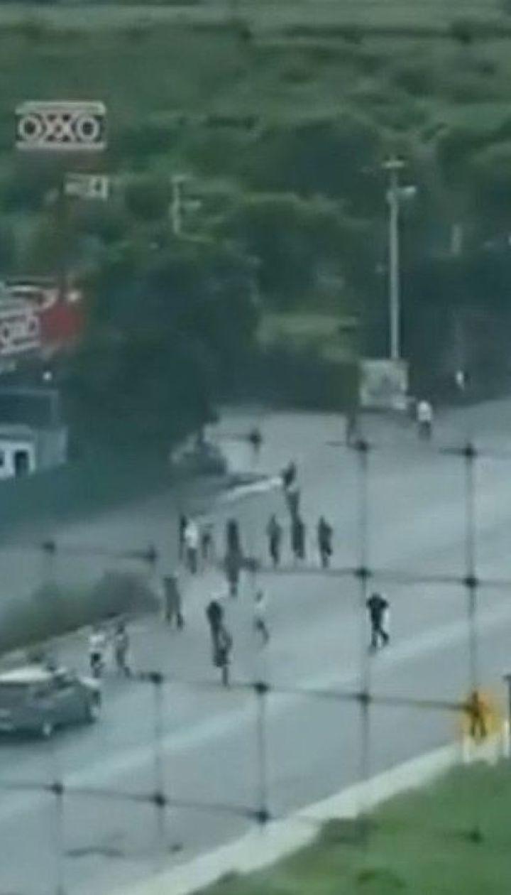 На севере Мексики картель взял в осаду город из-за ареста сына Эль Чапо
