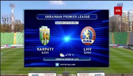Карпаты – Львов - 0:0. Обзор матча