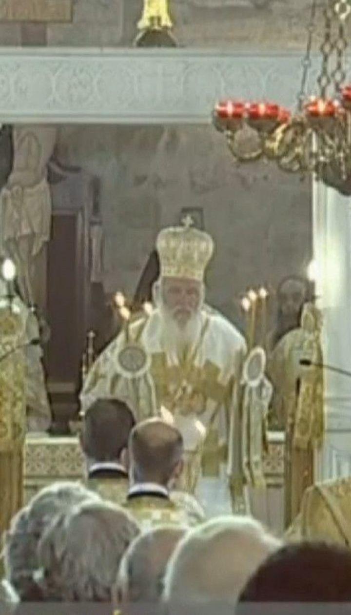 Грецька церква вперше згадала ім'я предстоятеля ПЦУ Епіфанія під час літургії