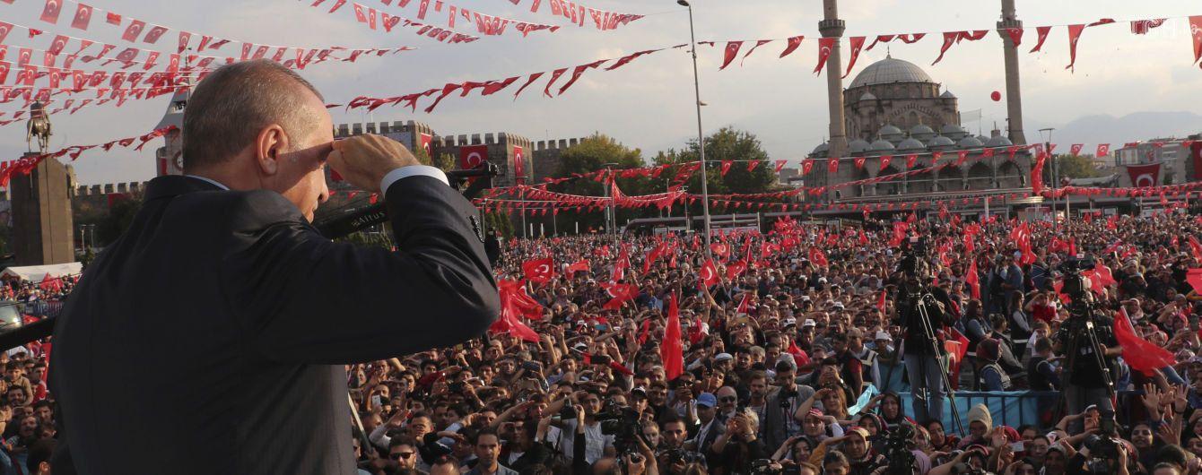 """Эрдоган подтвердил информацию о полном выводе курдов из """"зоны безопасности"""" в Сирии"""
