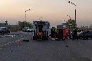 В Днепре полицейский спровоцировал ДТП с четырьмя автомобилями и погиб