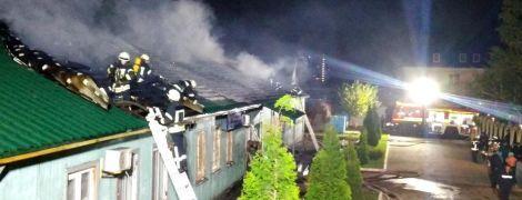 В Одессе горел мужской монастырь