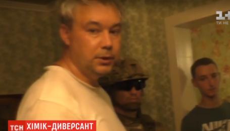 В Умані затримано підривника з Росії, який виготовляв вибухівку біля стратегічного аеродрому