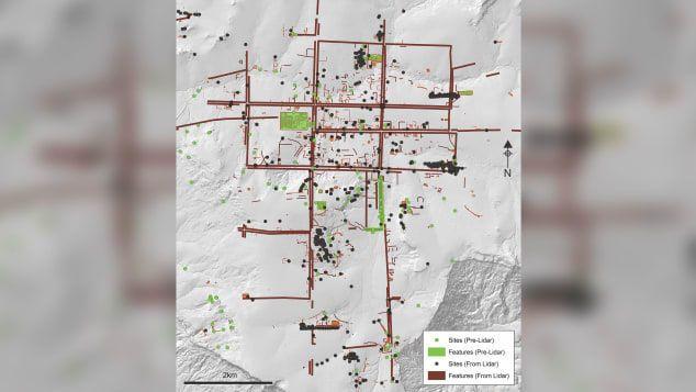 Карта міста Махендрапарвата