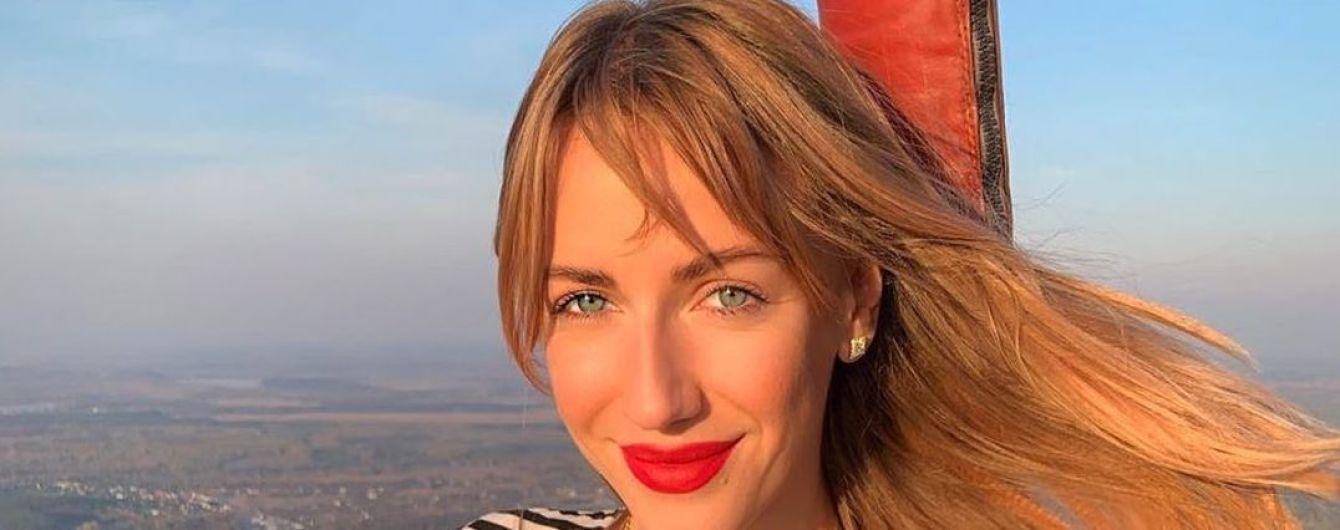 Никитюк отпраздновала 32-летие танцем на столе и поцелуем с Поляковой