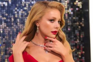 """Lady in red: эффектный образ Тины Кароль на шоу """"Танці з зірками"""""""