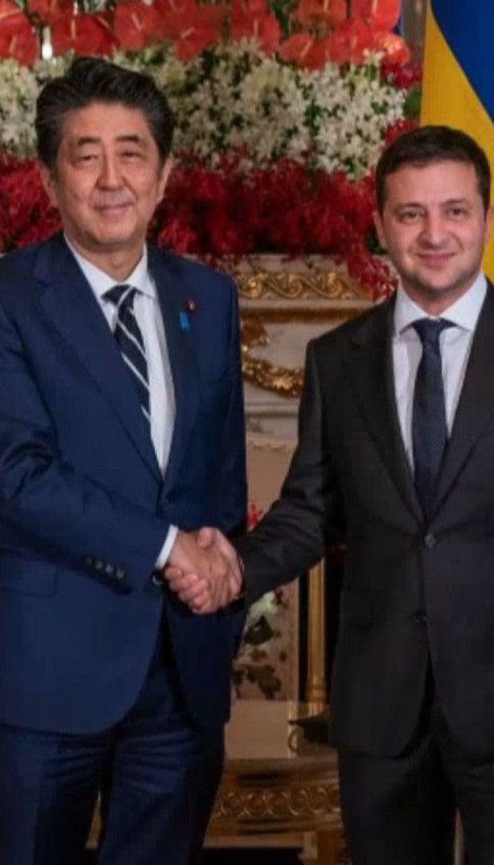 Президент Украины отправился с четырехдневным рабочим визитом в Японию