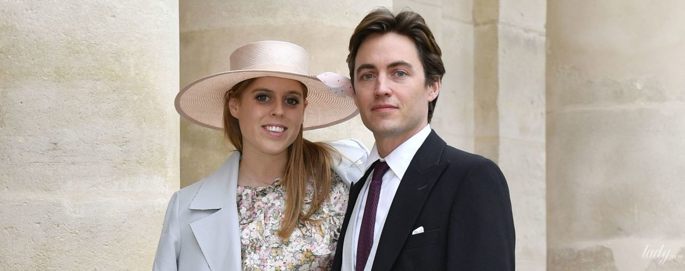 Принцеса Беатріс і Едоардо Мопеллі Моцці погуляли на весіллі племінника Наполеона I в Парижі