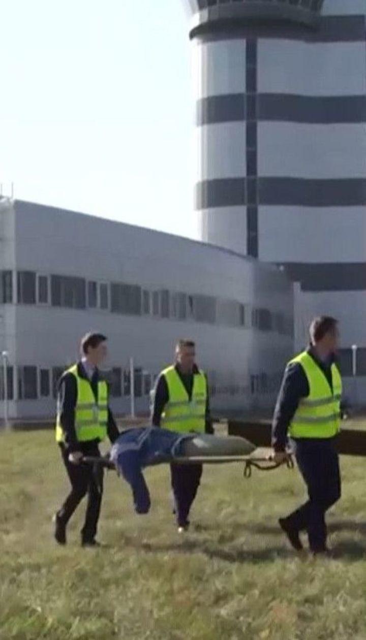 Масштабні навчання рятувальників влаштували в аеропорту Харкова