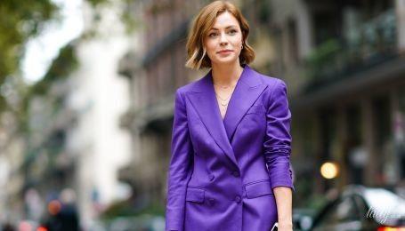 Фиолетовый – цвет сезона