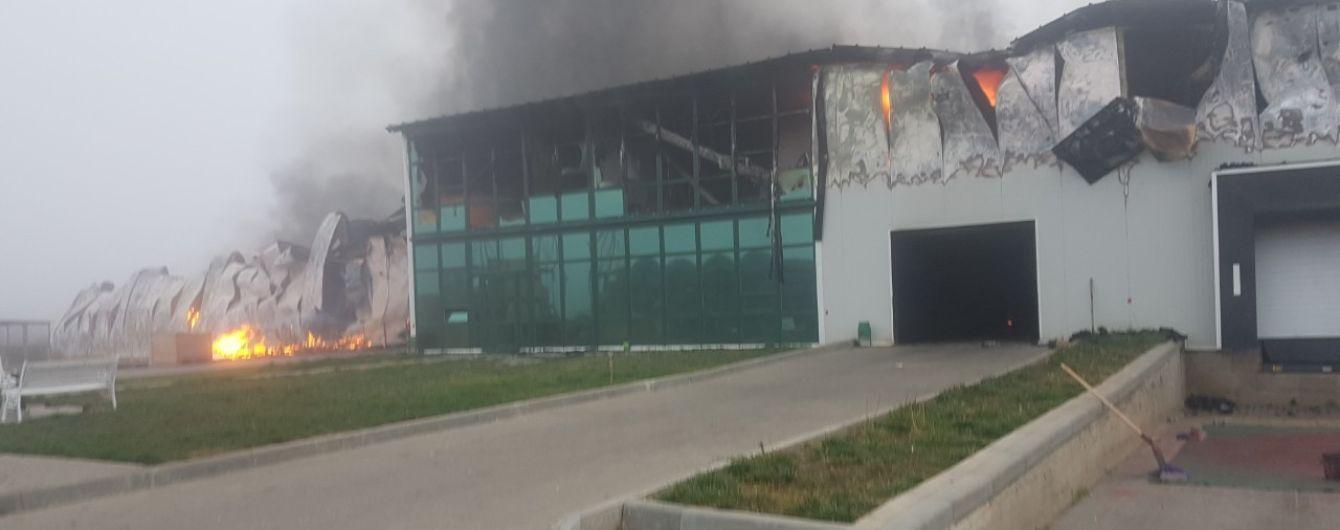 В Одесской области пожар уничтожил склад крупнейшей в Украине чесночной компании