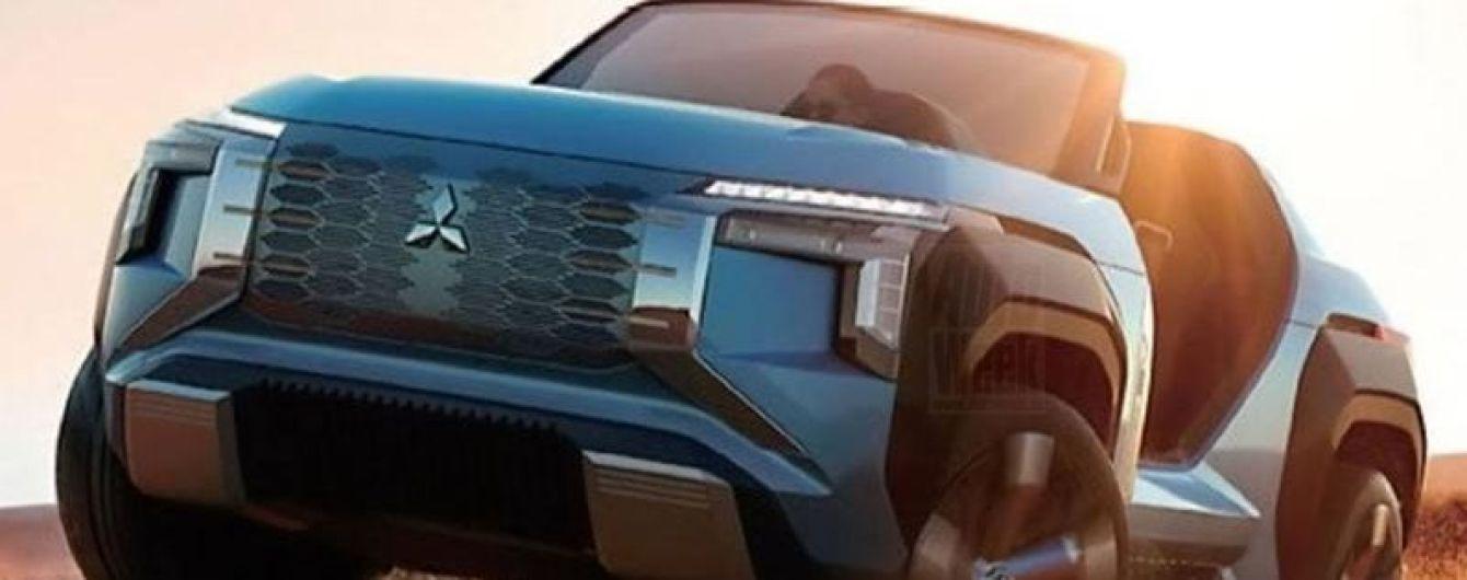 Mitsubishi показала свой вездеход с четырьмя электромоторами