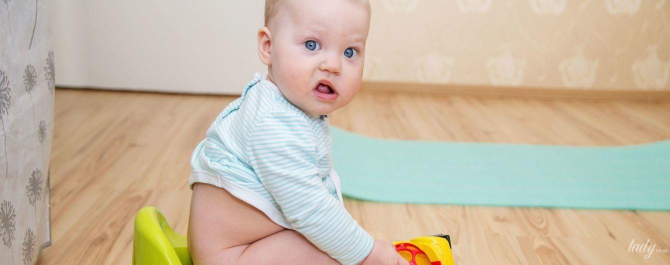 Долой подгузник: в каком возрасте и как приучать ребенка к горшку