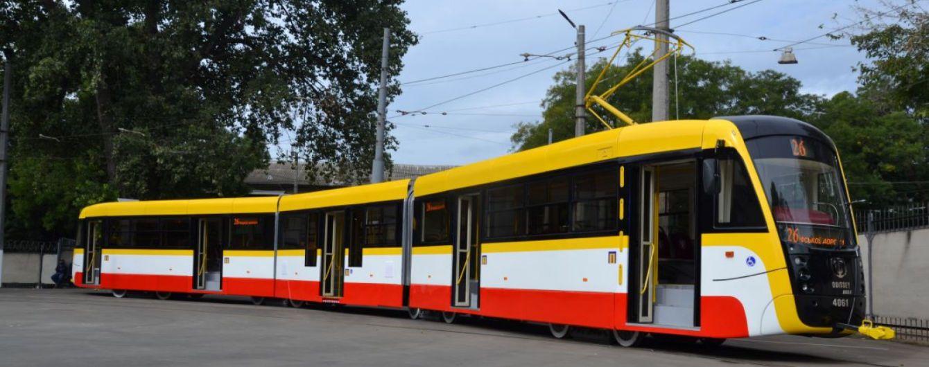 В Одессе запустят самый длинный трамвай Украины