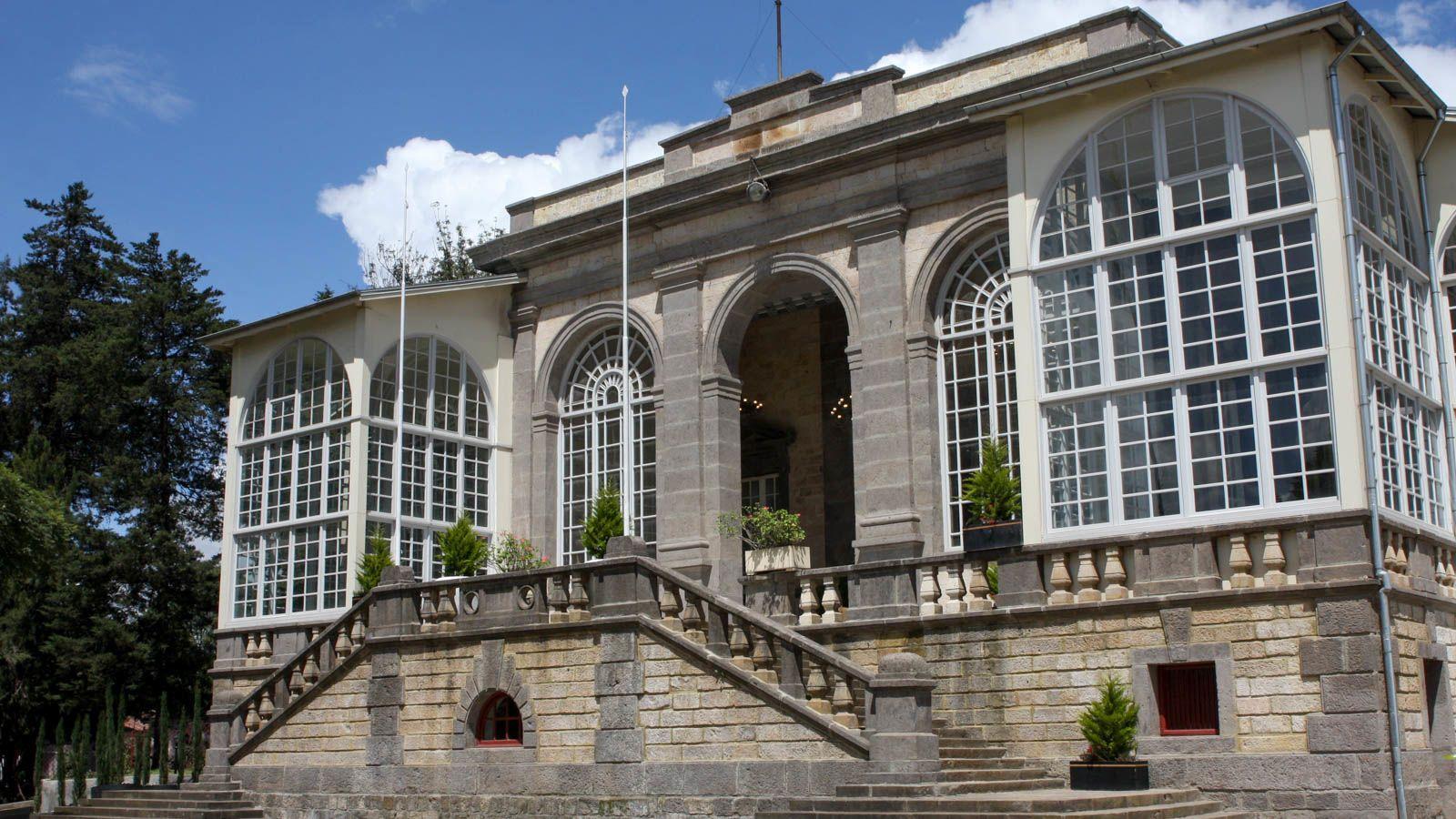Национальный дворец Менелика II, построенный в Эфиопии