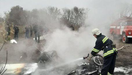 На Полтавщине разбился вертолет - разбился экс-министр Кутовой
