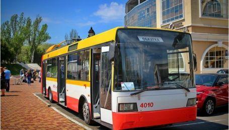 В Одессе запускают первый електробус