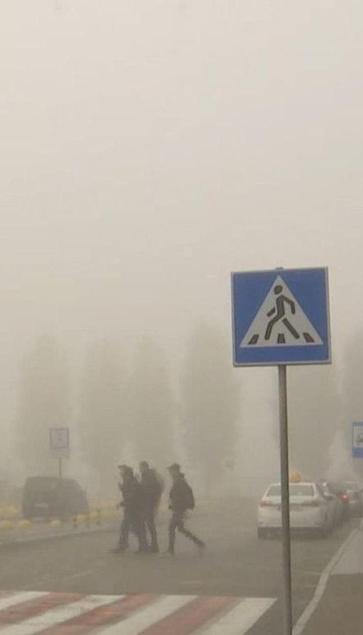 Невыносимая вонь возле Борисполя: какова ситуация в селах, где накануне стало плохо десяткам людей