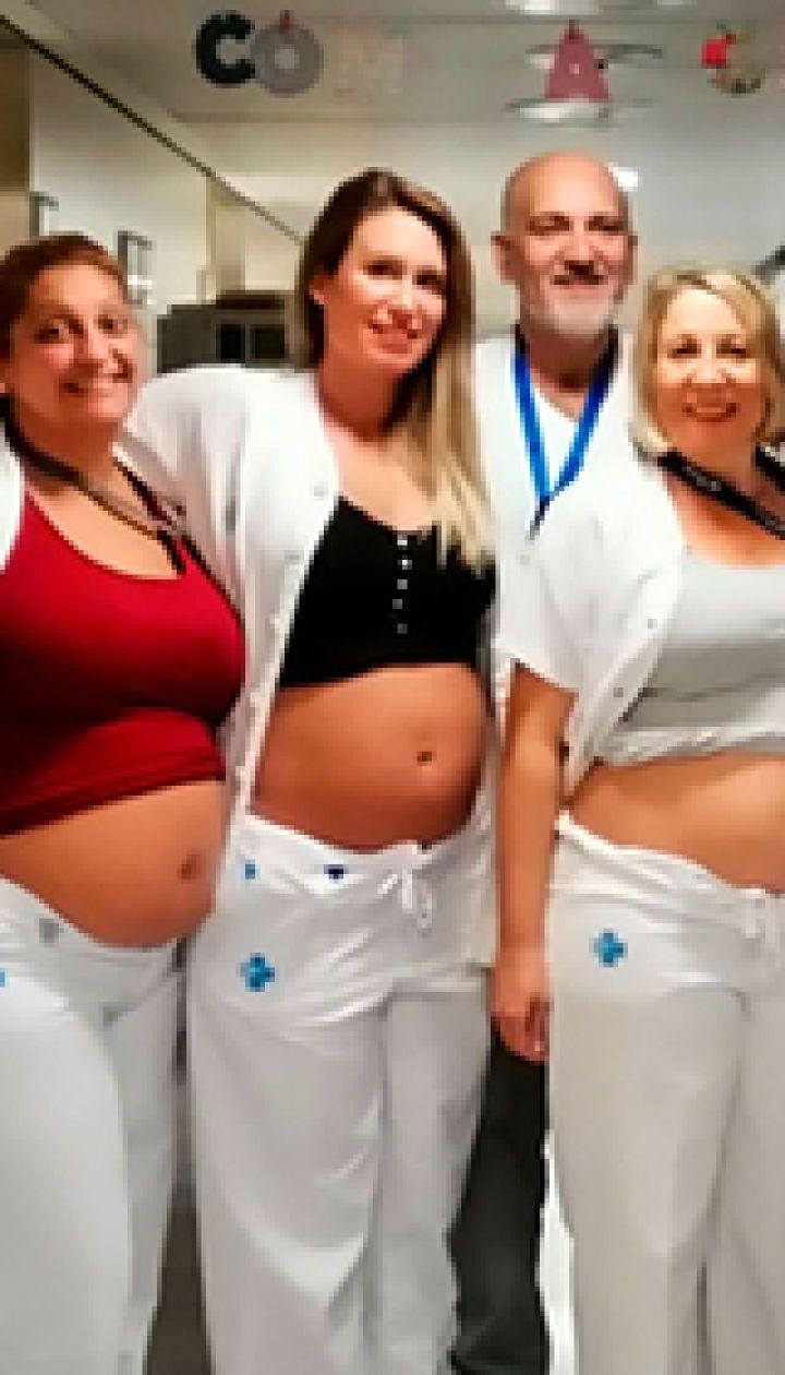 В испанской больнице забеременели сразу семеро медсестер
