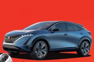 Электрический кроссовер Nissan Ariya показали на тизере