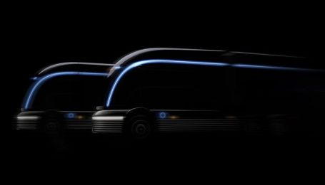 Hyundai интригует водородной фурой в стиле поезда Streamliner