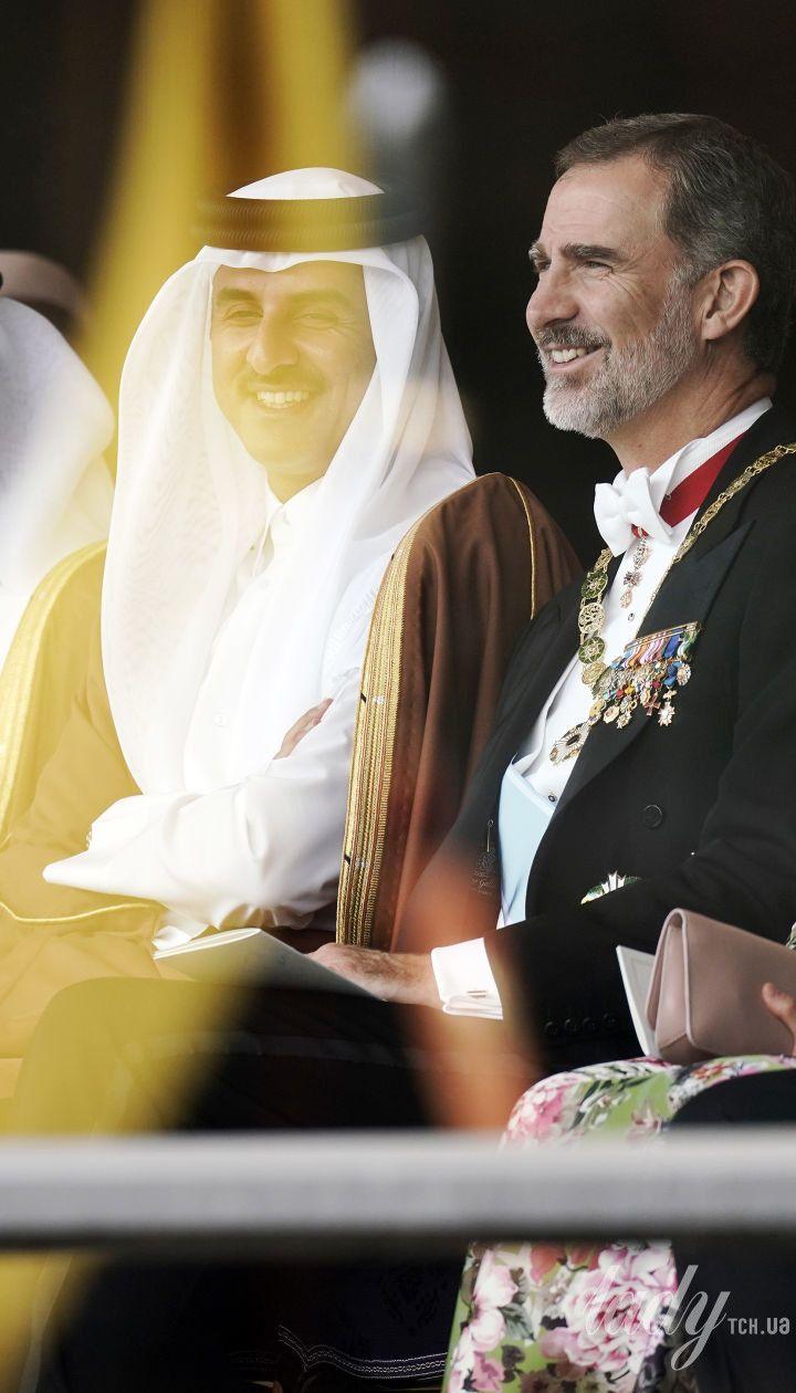 Королева Летиція і король Філіпп VI