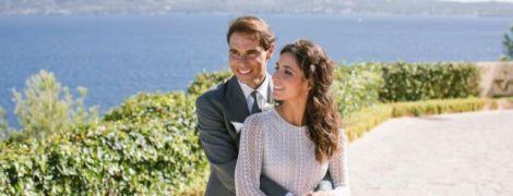 Надаль женился после 14 лет отношений, на свадьбе были теннисисты и экс-король Испании