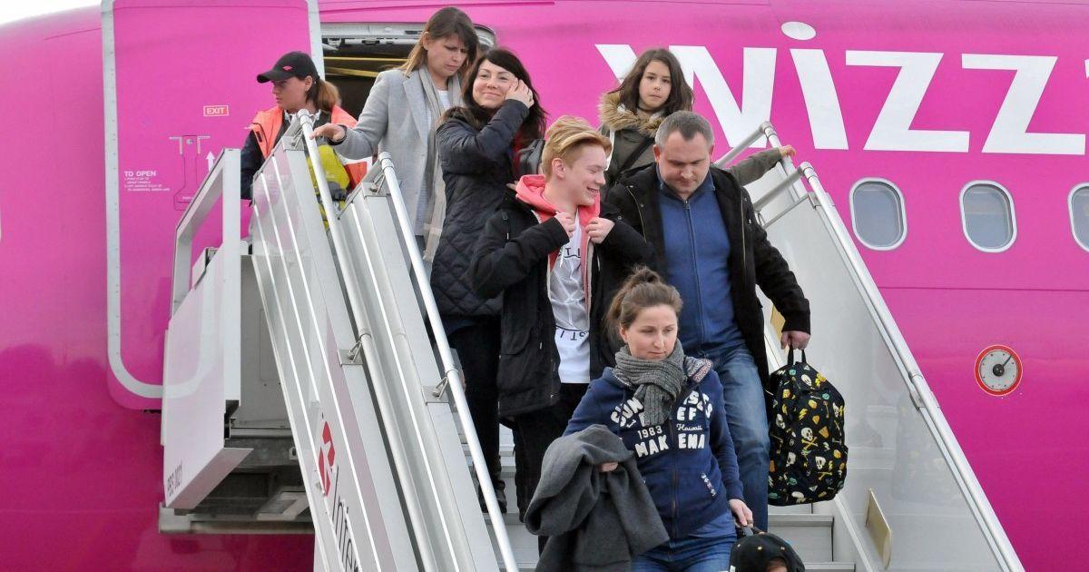 Wizz Air відкриє шість нових рейсів із Запоріжжя
