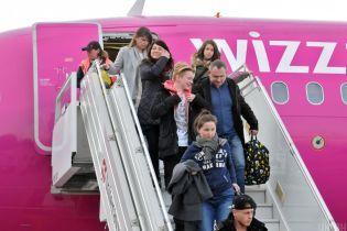 Wizz Air откроет шесть новых рейсов из Запорожья