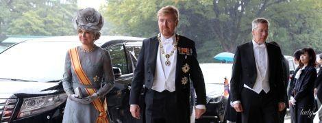 Самая харизматичная гостья: королева Максима на торжественной церемонии в Японии
