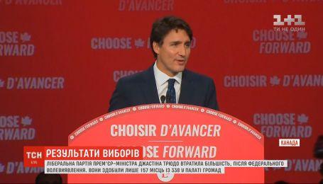 Вибори вКанаді: ліберальна партія Джастіна Трюдо вийшла в лідери, але втратила більшість