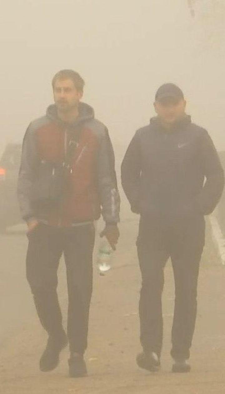 Забруднення повітря стало топ-темою для обговорення мешканців великих українських міст