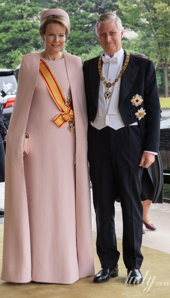 Королева Матильда і король Філіп