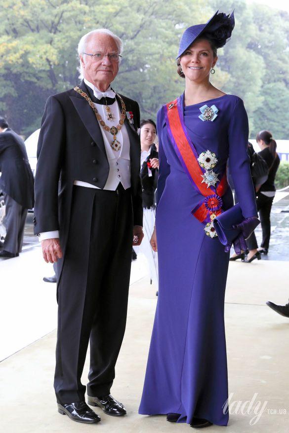 Кронпринцесса Виктория и король Карл Густав_1