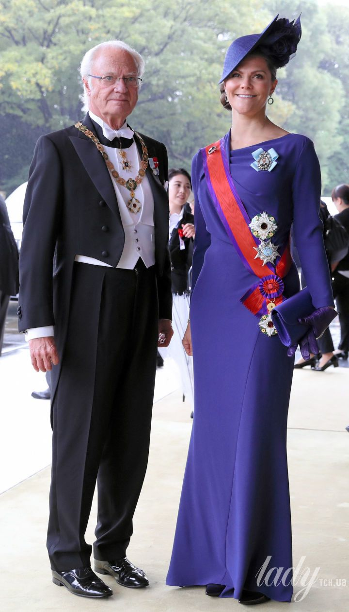 Кронпринцесса Виктория и король Карл Густав