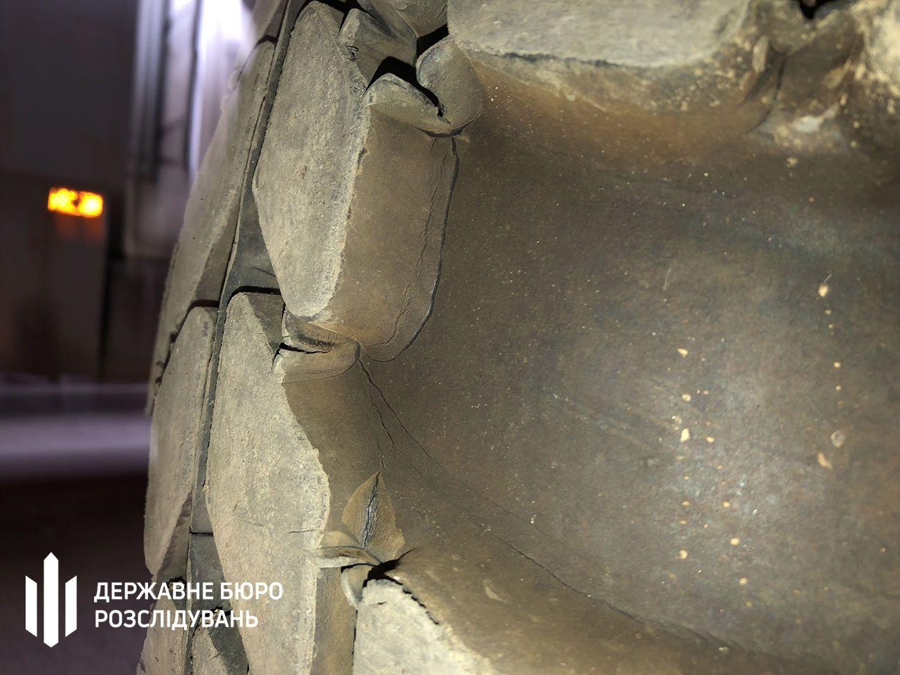 Погані шини для БТР_3