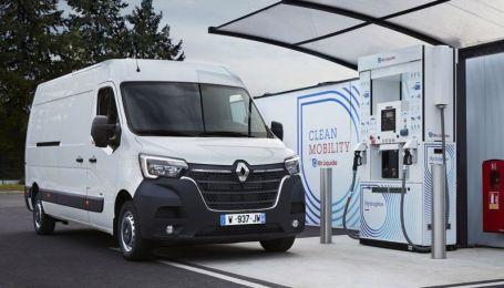 Renault створила водневі Kangoo і Master