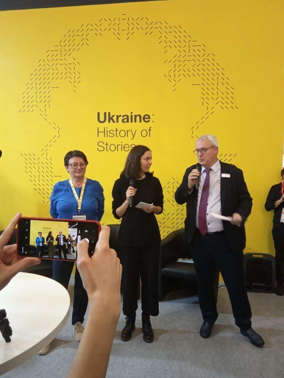 Відкриття українського стенду, для блогів