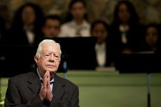 В США госпитализировали старейшего из американских президентов