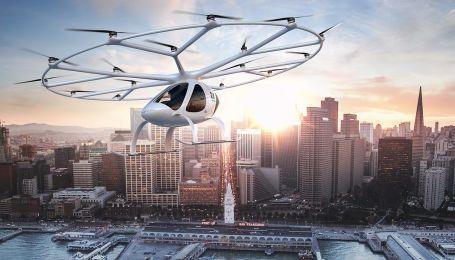 В Сингапуре испытали беспилотное аэротакси