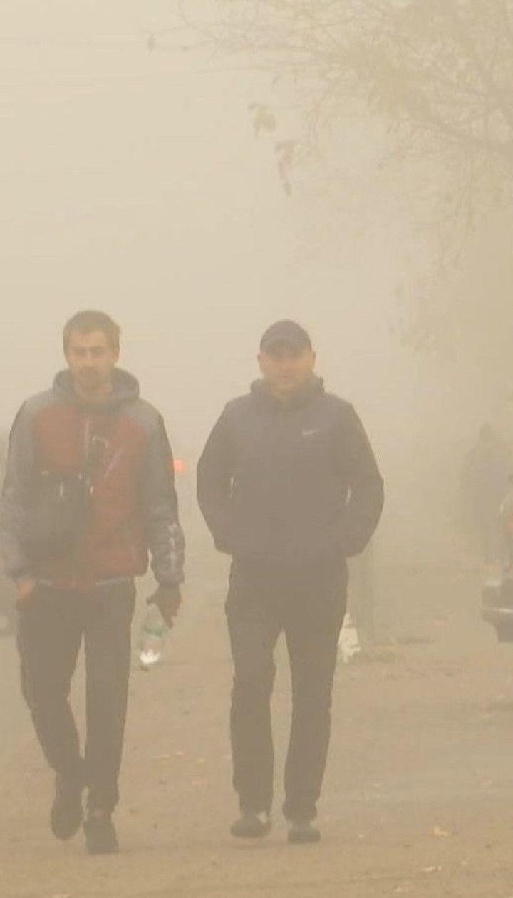 """Запах аміаку потрапив до аеропорту """"Бориспіль"""" з поля, яке обробляли аграрії"""