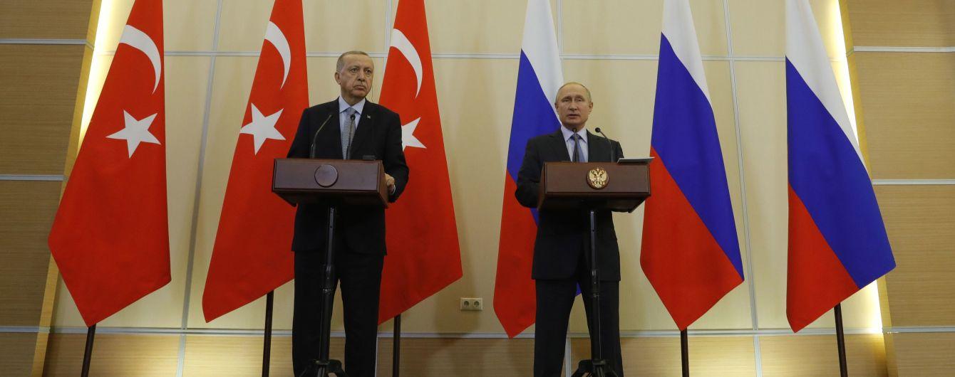 Эрдоган анонсировал саммит по Сирии с участием Меркель, Макрона и Путина